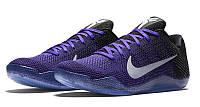 Кроссовки мужские баскетбольные Nike Kobe 11 Eulogy (найк леброн) синие