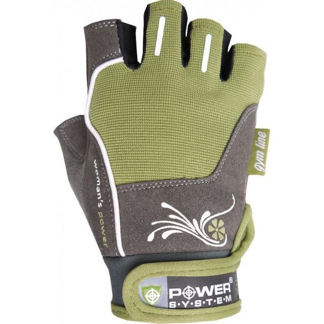 Перчатки спортивные, женские Power System WOMANS POWER PS 2570 Green