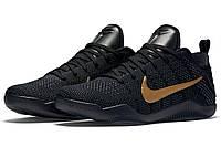 Кроссовки мужские баскетбольные Nike Kobe 11 Eulogy (найк леброн) черные