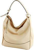 Женская красивая сумка из искусственной кожи Traum 7236-03, бежевая