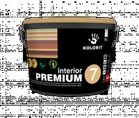 Interior Premium 7 Премиум 7. Династия. шелковисто-матовая латексная краска для внутренних работ Да, Украина, 9