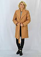"""Женское пальто из ткани """"букле"""""""