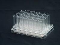 Планшет на 24 лунки, 3,6 мл с плоским дном, стерильно, клетка+