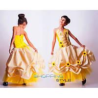 Платье Парча, органза