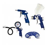 Набор пневмоинструментов Werk KIT-4G (кол-во предметов 4 шт)