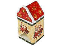 Банка для чая (чайных пакетиков) керамическая Новогодняя коллекция18 см 586-161
