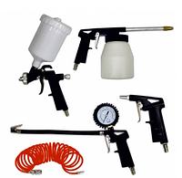 Набор пневмоинструментов Werk KIT-5PG (кол-во предметов 5 шт)