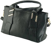 Классическая женская сумка из искусственной кожи Traum 7234-01, черный