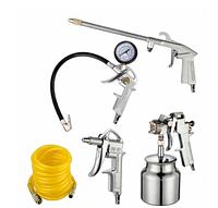 Набор пневмоинструментов Werk KIT-5S (кол-во предметов в наборе 5 шт)