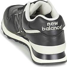 Кроссовки new balance 574luc мужские (кожаные) оригинал, фото 2