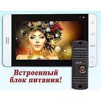 Комплект видеодомофона PoliceCam PC-705 (PC-668H)