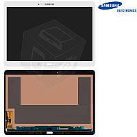 """Дисплейный модуль (дисплей + сенсор) для Samsung Galaxy Tab S 10.5"""" T800 / T805, белый, оригинал"""