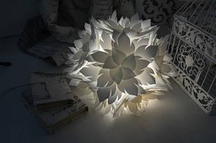 Светильники и ночники в форме цветка