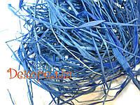 Рафия мини (синяя)