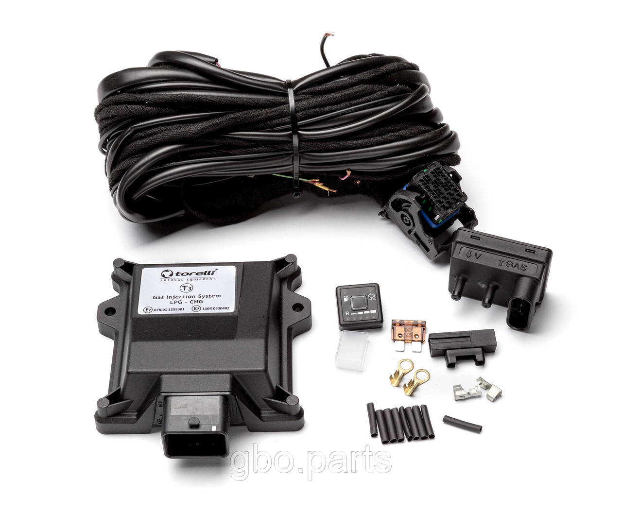 Електроніка Torelli T3 Pro (Autronic) на 4 циліндра з проводкою