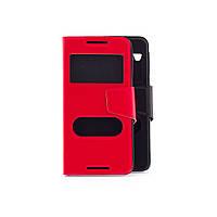 Чехол (книжка) с окошком для HTC Desire 626 черный