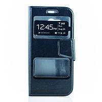 Чехол (книжка) с окошком для HTC New One 2 / M8 черный