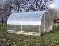 Теплица из поликарбоната 3х4х2.1 м.  (поликарбонат 4 мм. в комплекте).