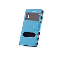 Чехол (книжка) с окошком для Lenovo A7000/K3 Note/K50T голубой