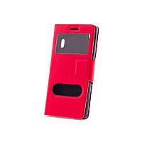 Чехол (книжка) с окошком для Lenovo A7000/K3 Note/K50T красный
