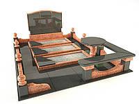 3d модель памятного комплекса для троих