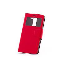 Чехол (книжка) с окошком для LG D690 G3 Stylus Dual красный