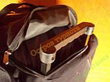 СУМКА DING ZHI Т935 колесики ручка большая черная, фото 3