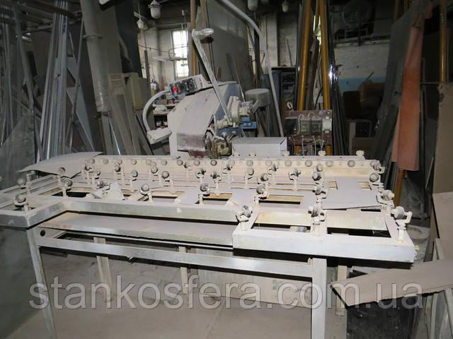 Стрічковий шліфувальний верстат б у для обробки кромки скла ЛЗ-1800