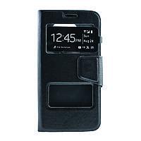 Чехол (книжка) с окошком для Samsung G925F Galaxy S6 Edge черный