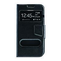 Чехол (книжка) с окошком для Samsung G900 Galaxy S5 черный
