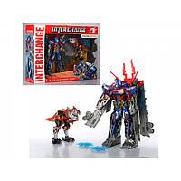 Набор Робот-трансформер Optimus Prime с динозавром