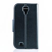 Чехол (книжка) с окошком для Samsung i9500 Galaxy S4 черный