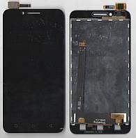 Дисплей + сенсор A2020a40 Vibe C Черный