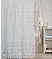 Элегантная штора в ванную Долунай 120 (x2) x 200 см, Киев