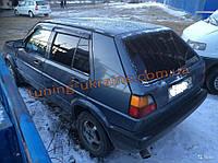 Дефлекторы окон (ветровики) COBRA-Tuning на VW GOLF II 5D 1983-1991