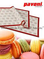 Силиконовый коврик для печенья Макаронс - 60 ячеек - Pavoni