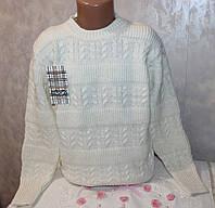 Свитер на девочку вязанный 9-10,11-12,13-14 лет