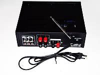 Качественный усилитель звука UKC AV-339A. Функция караоке. Современное устройство. Купить онлайн. Код: КДН836