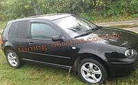 Дефлекторы окон (ветровики) COBRA-Tuning на VW GOLF IV 3D 1997-2004