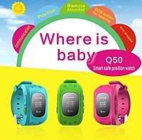 Умные детские часы Q50(Smart Baby Watch Q50) c GPS трекером
