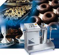 Системы распыления для глазирования кондитерских изделий и нанесения барьерного жира
