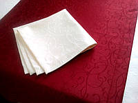 """Дорожка для ресторана 40*120 ,ткань """"Мати"""", рисунок 1812 бордо"""