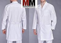 Класический мужской медицинский халат  Classic
