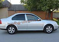 Дефлекторы окон (ветровики) COBRA-Tuning на VW JETTA IV 1998-2005