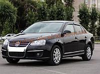 Дефлекторы окон (ветровики) COBRA-Tuning на VW SAGITAR 2006-2012