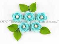 """Квіти з мастики - Набір """"Яблуневий Цвіт"""" - Блакитний"""