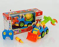 Радиоуправляемый Трактор-экскаватор