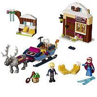 """Конструктор Bela 10666 (аналог Lego Disney Princess 41066) """"Анна и Кристоф: прогулка на санях"""", 180 дет"""