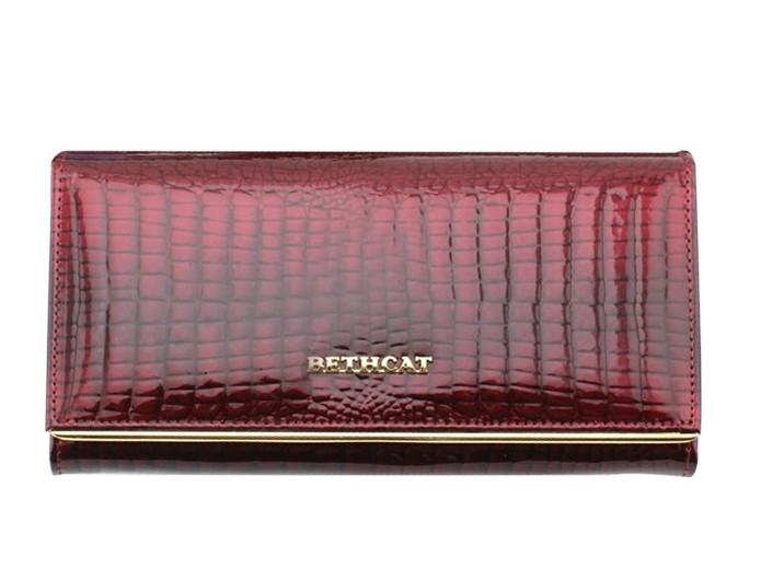 e4c42756c838 Лакированный, женский кожаный кошелек BETH CAT (30070): продажа ...