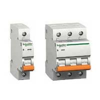 Автоматические выключатели ВА63 (домовой) Schneider Electric
